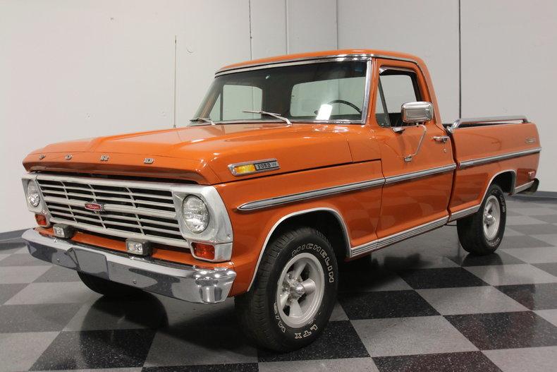 burnt orange 1969 ford f100 for sale mcg marketplace