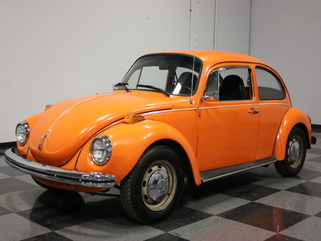 Orange 1973 Volkswagen Super Beetle For Sale Mcg Marketplace
