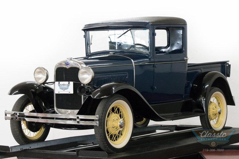 Washington Blue 1930 Ford Model A Pickup For Sale  MCG Marketplace