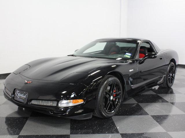 black 2004 chevrolet corvette z06 for sale mcg marketplace. Black Bedroom Furniture Sets. Home Design Ideas