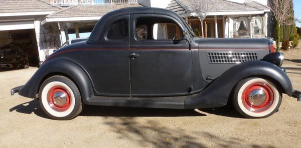1935 ford 5 window coupe deluxe for sale mcg marketplace for 1935 ford 5 window coupe for sale