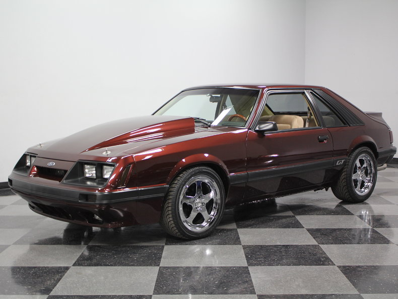 1982, 1983, 1984, 1985, 1986 Ford Mustang Specifications ...