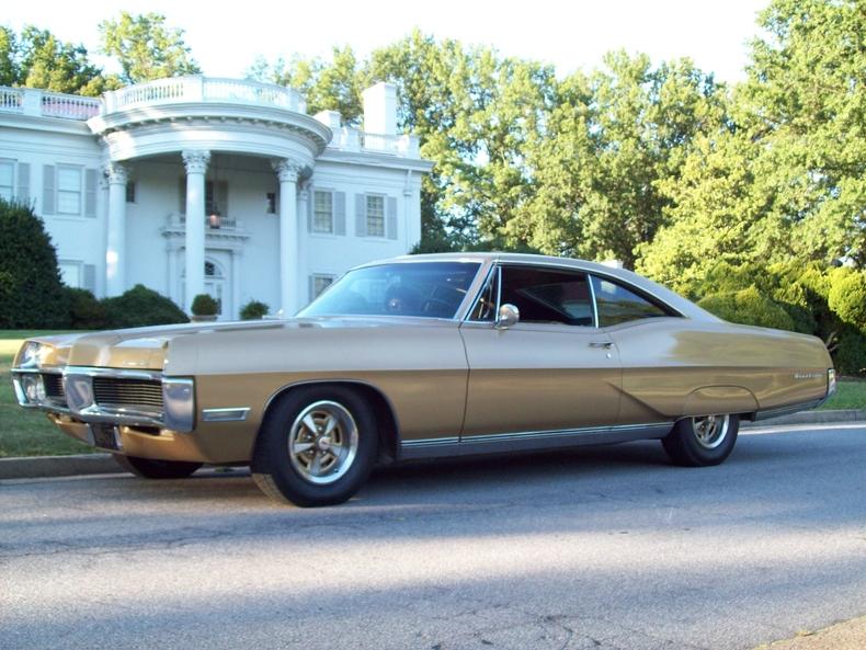 Gold Metallic 1967 Pontiac Bonneville For Sale Mcg
