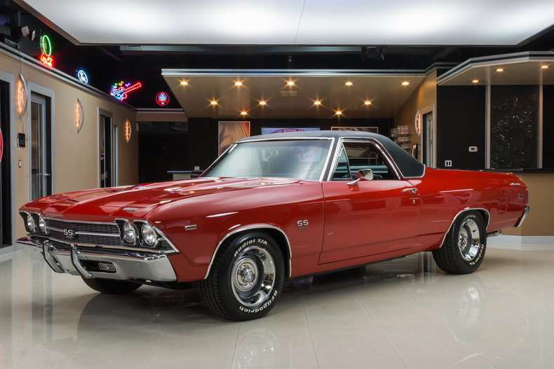 Chevrolet Ss 69 >> Red 1969 Chevrolet El Camino For Sale | MCG Marketplace
