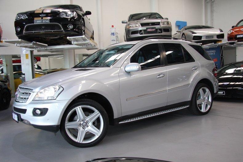 Silver 2008 mercedes benz ml500 for sale mcg marketplace for Mercedes benz ml500 for sale