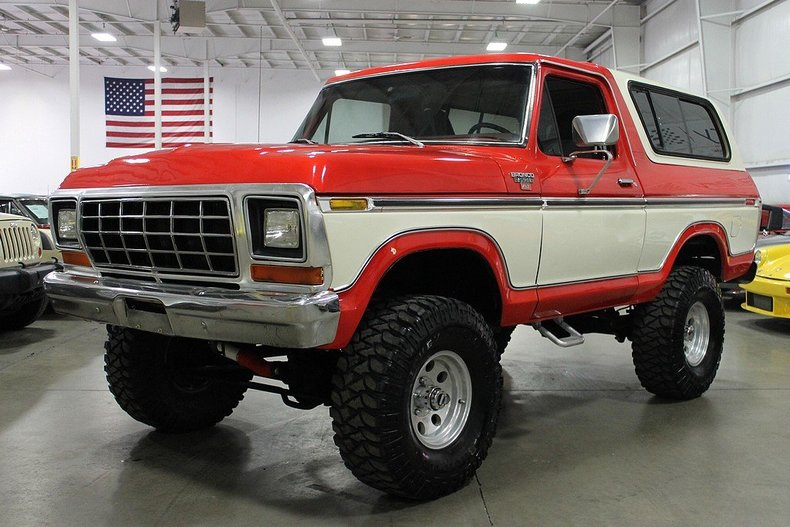 red 1978 ford bronco for sale mcg marketplace. Cars Review. Best American Auto & Cars Review