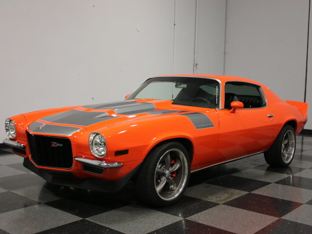 Hugger Orange 1971 Chevrolet Camaro For Sale Mcg Marketplace