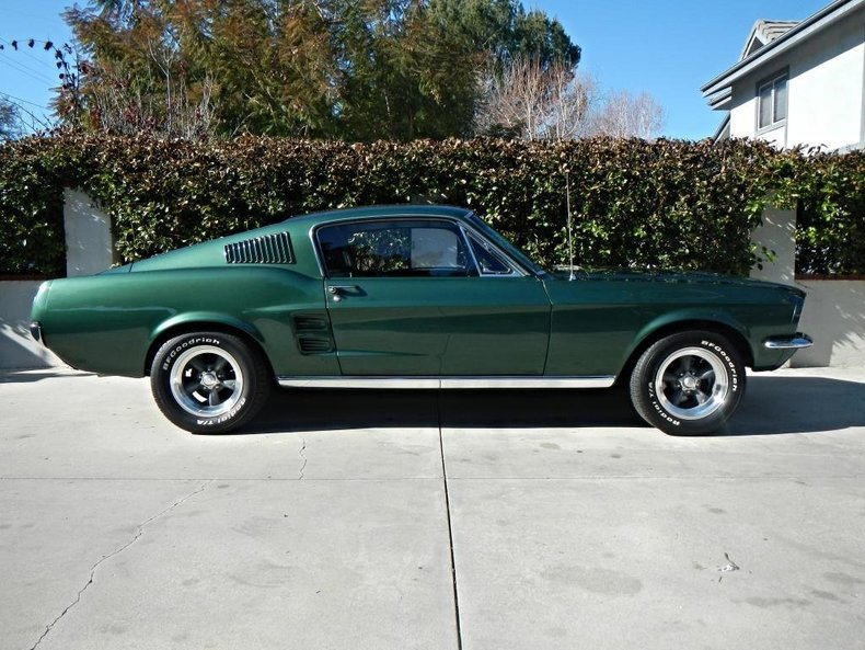 Dark Green 1967 Ford Mustang Fastback For Sale | MCG ...