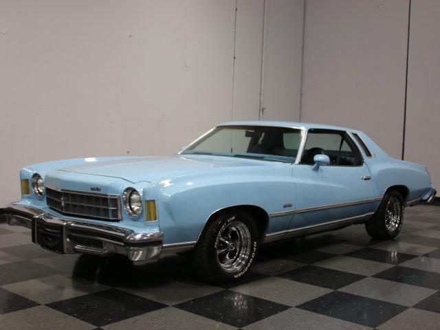 Blue 1975 Chevrolet Monte Carlo For Sale Mcg Marketplace