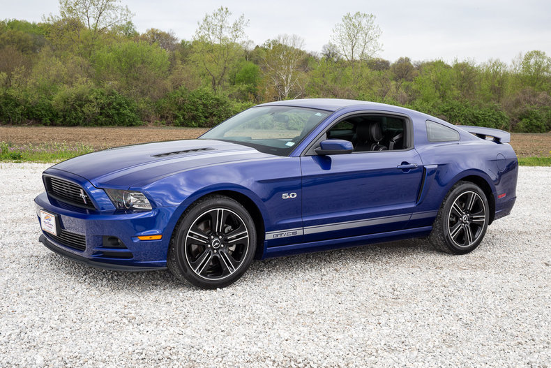 deep impact blue 2013 ford mustang gt cs for sale mcg marketplace. Black Bedroom Furniture Sets. Home Design Ideas