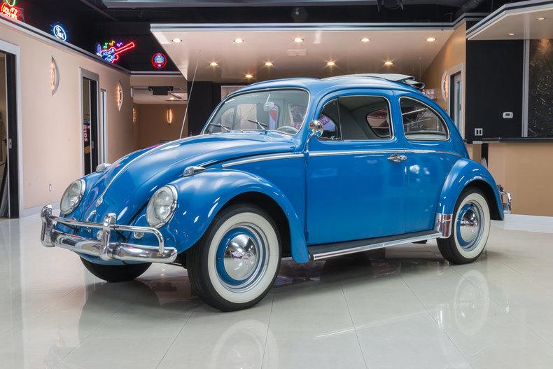 Light Blue 1960 Volkswagen Beetle For Sale Mcg Marketplace