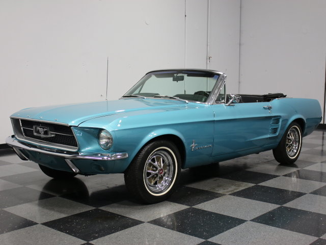 Clearwater Aqua 1967 Ford Mustang For Sale Mcg Marketplace