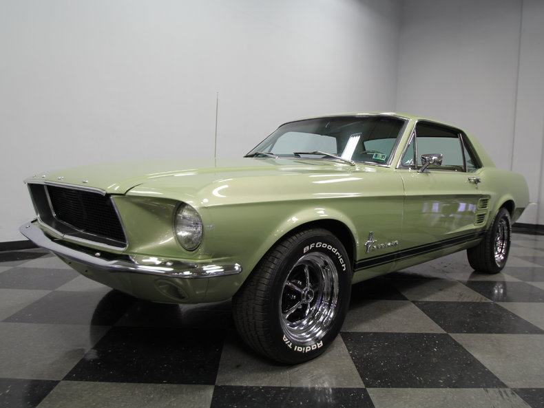 Ford Dealers Nc Lime Gold 1967 Ford Mustang For Sale | MCG Marketplace