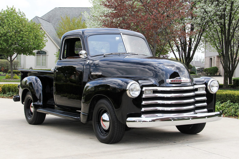 black 1950 chevrolet 3100 5 window pickup for sale mcg marketplace. Black Bedroom Furniture Sets. Home Design Ideas