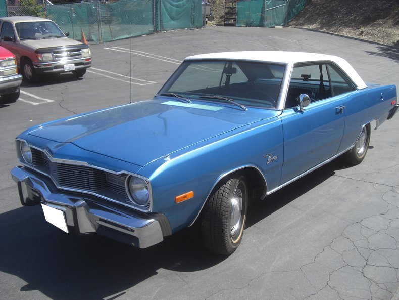 1975 Dodge Dart Swinger Post Mcg Social