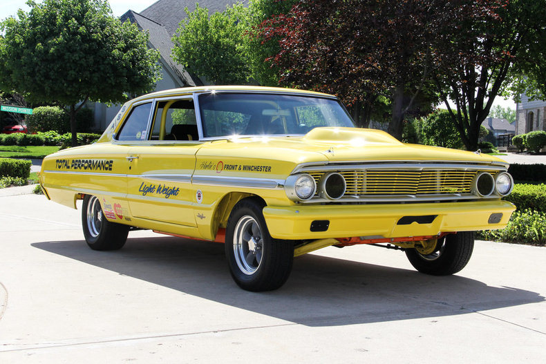 Yellow 1964 Ford Galaxie For Sale Mcg Marketplace
