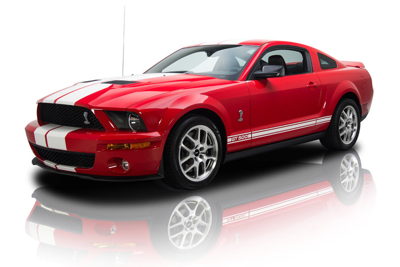 torch red 2007 ford mustang gt500 for sale mcg marketplace. Black Bedroom Furniture Sets. Home Design Ideas