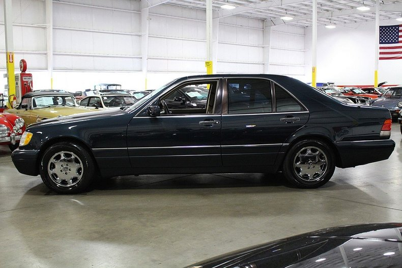 1996 mercedes benz s320 post mcg social for Mercedes benz 1996