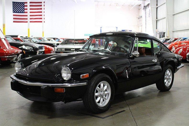 Grand Rapids Car Dealers >> Black 1973 Triumph Gt6 For Sale | MCG Marketplace