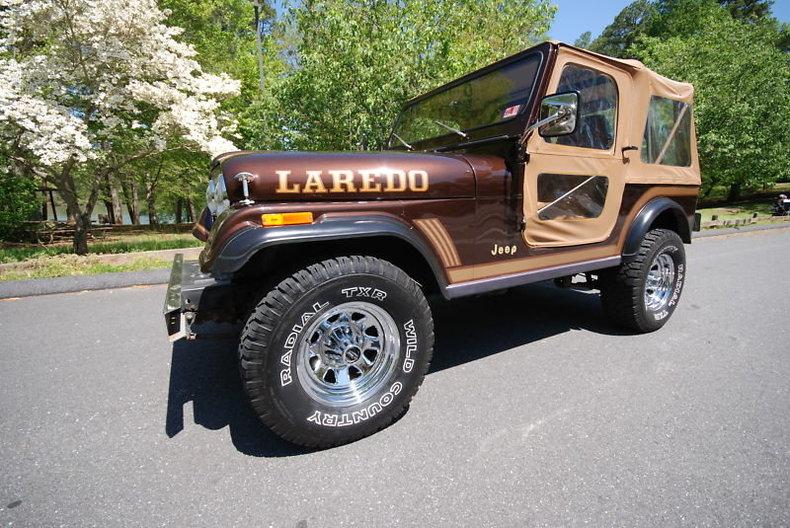 Chestnut Brown Metallic 1986 Jeep Cj7 For Sale
