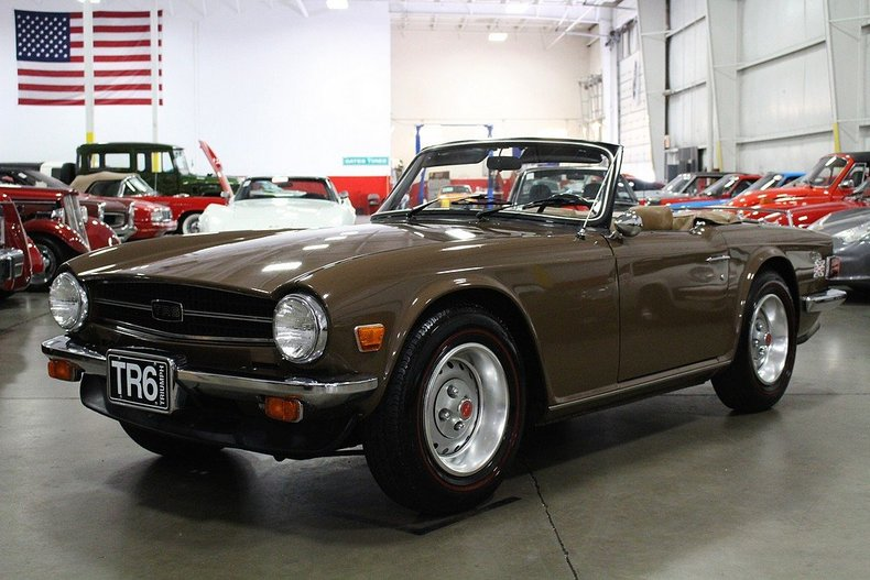 maple 1976 triumph tr6 for sale | mcg marketplace