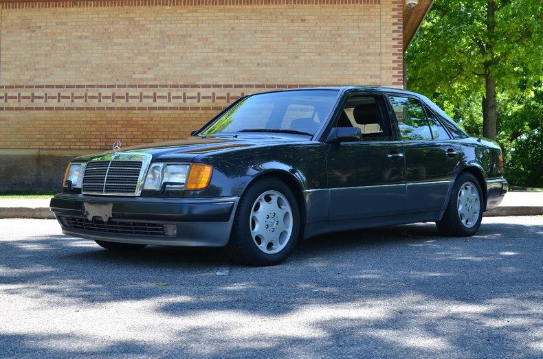 Black 1993 Mercedes Benz 500 E For Sale Mcg Marketplace