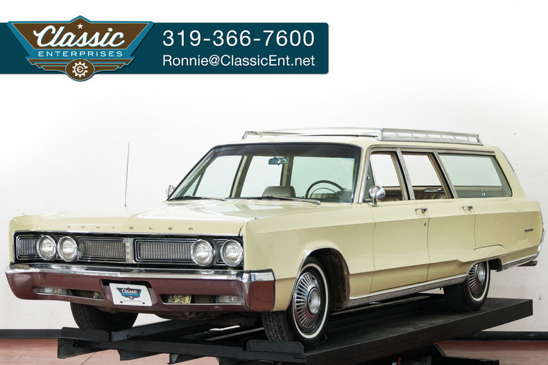 ivory 1967 chrysler town and country for sale mcg marketplace. Cars Review. Best American Auto & Cars Review