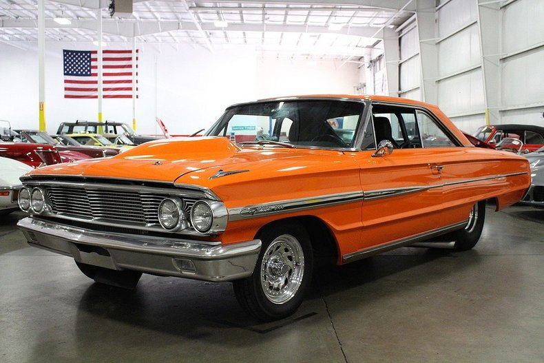 Orange 1964 ford galaxie 500 for sale mcg marketplace for Garage ford orange