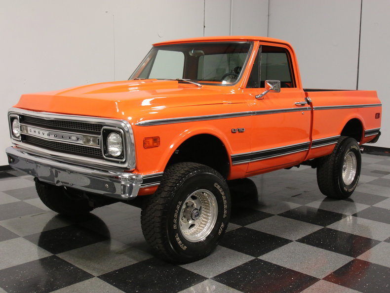 Trucks For Sale In Ga >> Hugger Orange 1970 Chevrolet C10 For Sale | MCG Marketplace