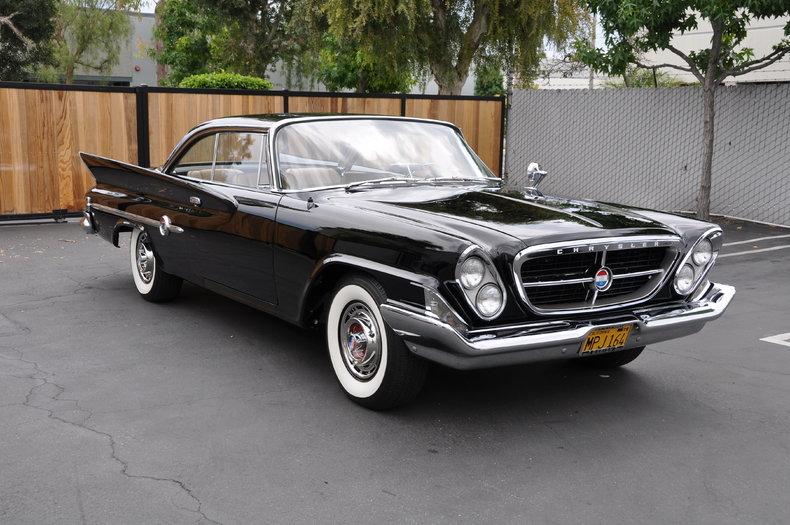 Black 1961 Chrysler 300 For Sale Mcg Marketplace