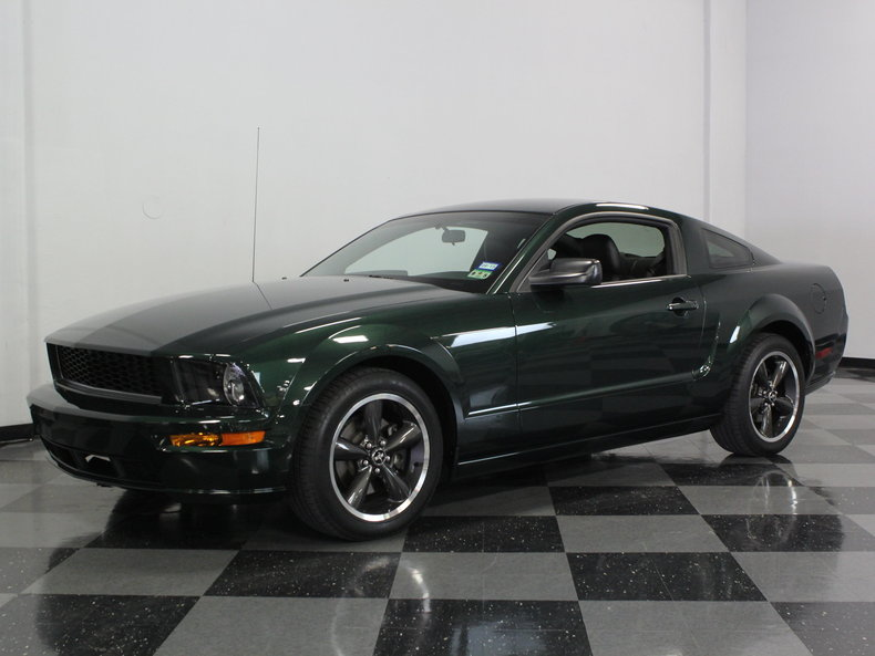 2009 Mustang Bullitt For Sale >> Highland Green 2009 Ford Mustang Bullitt Gt For Sale | MCG Marketplace