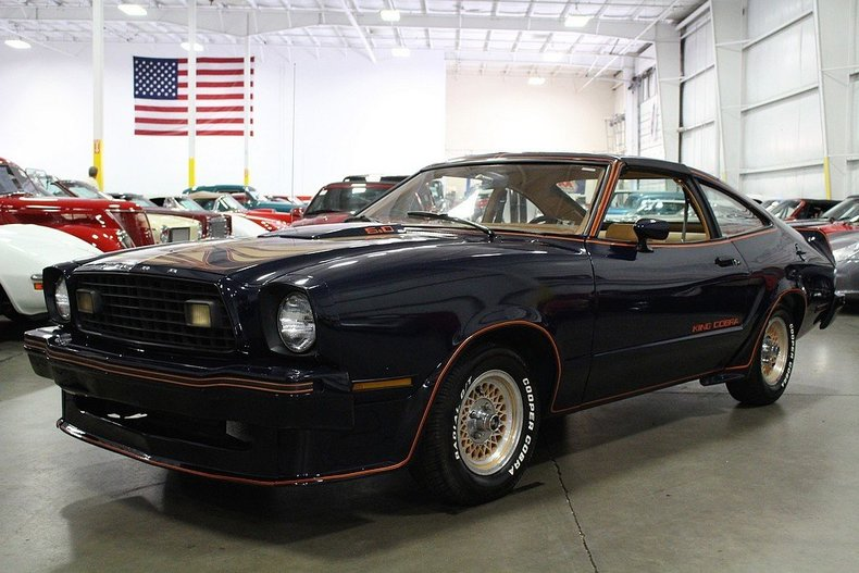 midnight blue 1978 ford mustang for sale mcg marketplace. Black Bedroom Furniture Sets. Home Design Ideas