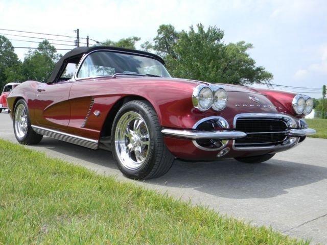 1962 Chevrolet Corvette Convertible Post Mcg Social