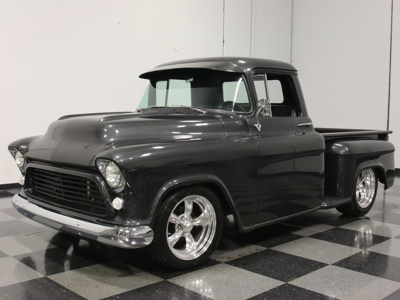Gunmetal Gray 1957 Chevrolet 3100 For Sale Mcg Marketplace