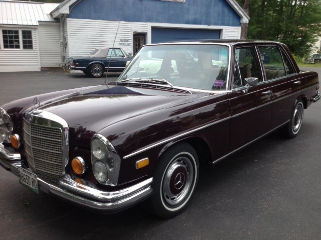 1973 mercedes benz 280 sel for sale mcg marketplace for 1973 mercedes benz 280