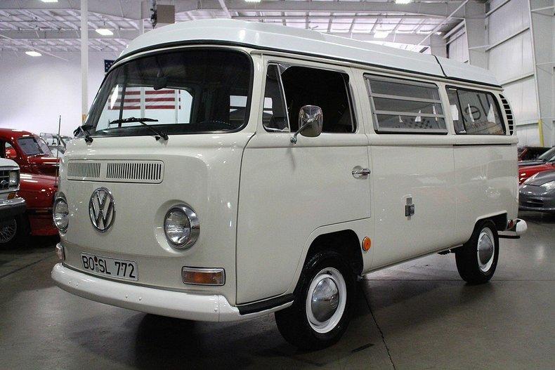 White 1969 Volkswagen Westfalia Camper For Sale   MCG Marketplace