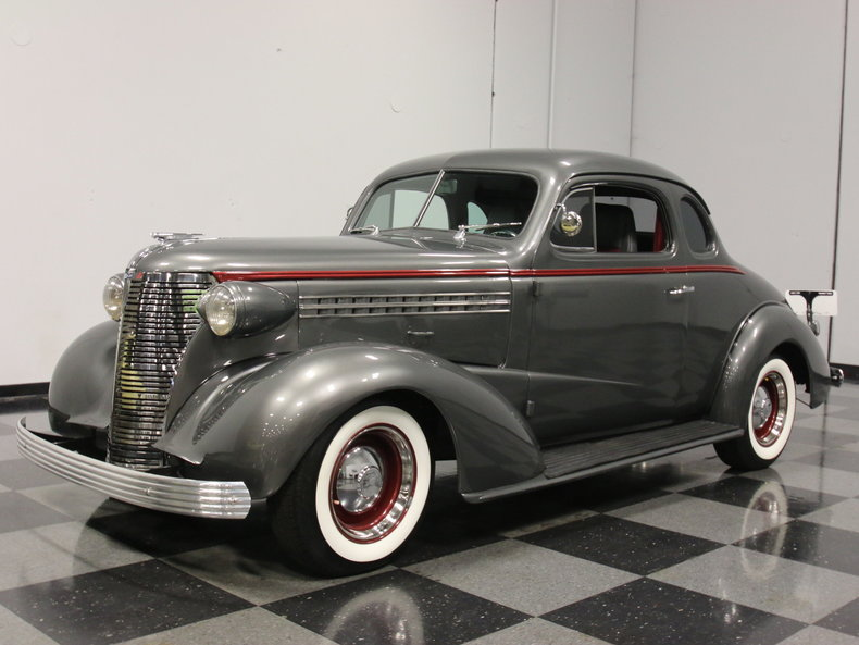 Gray 1938 Chevrolet Business Coupe For Sale Mcg Marketplace