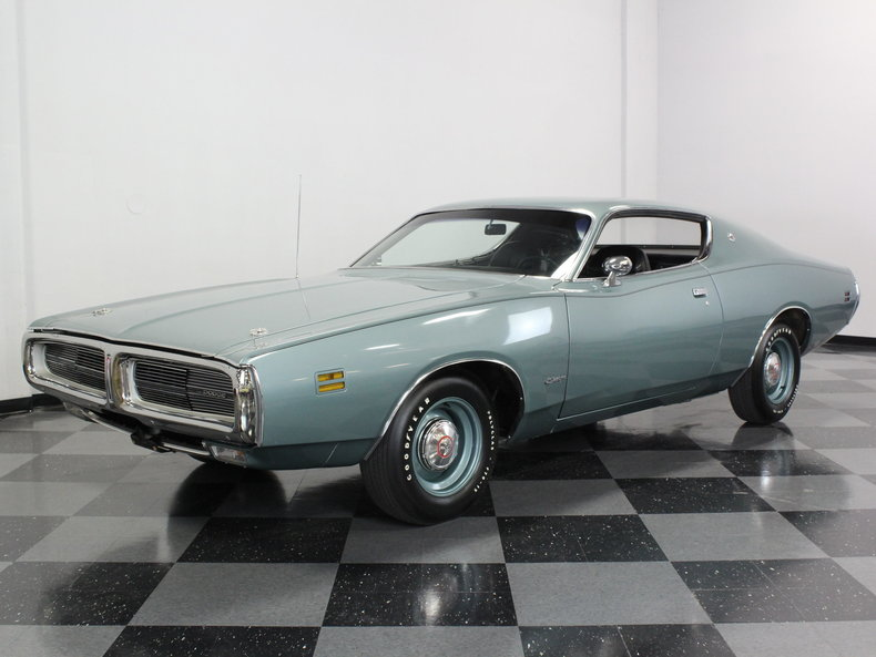 1968 Charger For Sale >> Gunmetal Gray 1971 Dodge Charger Se For Sale | MCG Marketplace