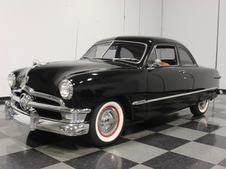 black 1950 ford coupe for sale mcg marketplace. Black Bedroom Furniture Sets. Home Design Ideas