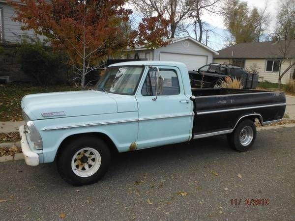 1967 ford f100 for sale mcg marketplace for Garage ford 59