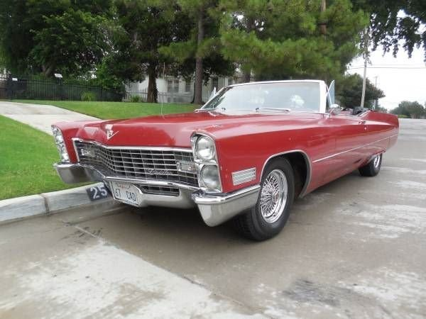 Cadillac Coupe Deville 1967