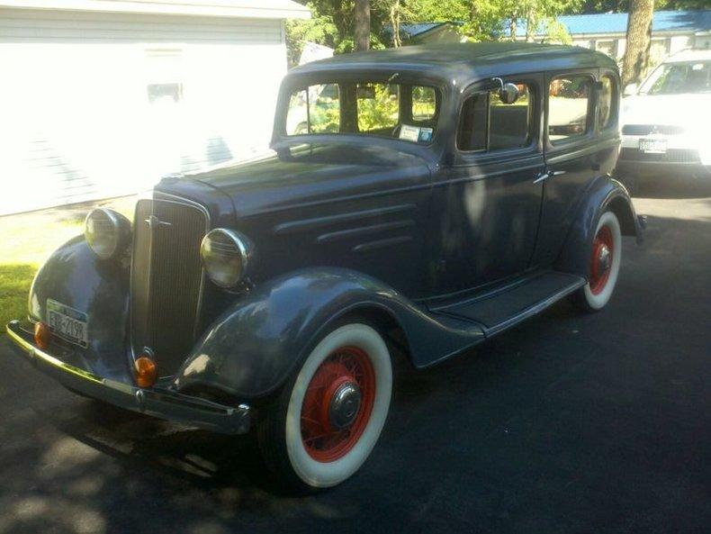 1935 chevrolet sedan for sale mcg marketplace for 1935 chevrolet 4 door sedan