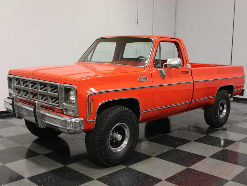 orange 1979 gmc sierra for sale mcg marketplace. Black Bedroom Furniture Sets. Home Design Ideas