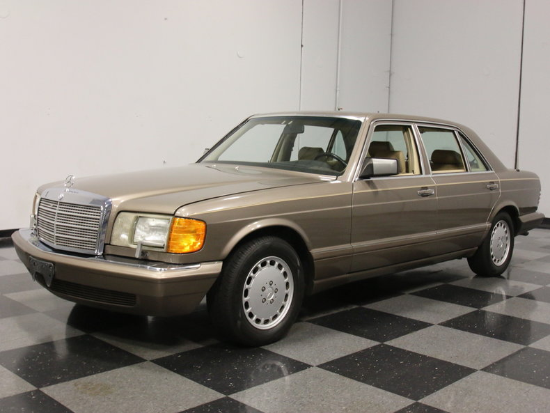 Brown 1989 mercedes benz 560 sel for sale mcg marketplace for Mercedes benz 560sel