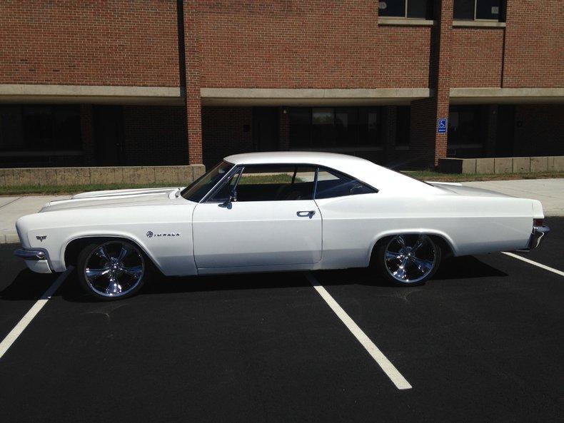 Ermine White 1966 Chevrolet Impala For Sale Mcg Marketplace