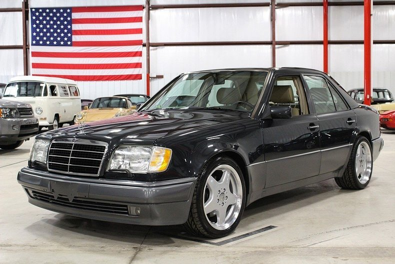 black pearl 1994 mercedes benz e500 for sale mcg marketplace. Black Bedroom Furniture Sets. Home Design Ideas