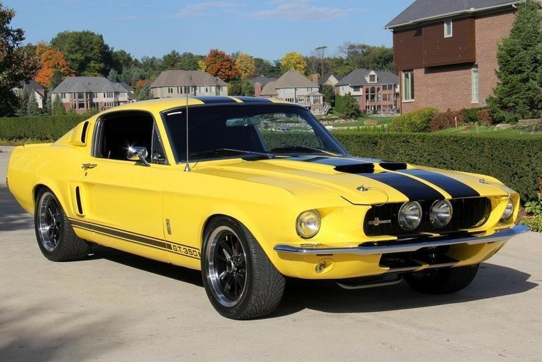 Vivid Canary Yellow 1967 Ford Mustang Gt350 For Sale Mcg