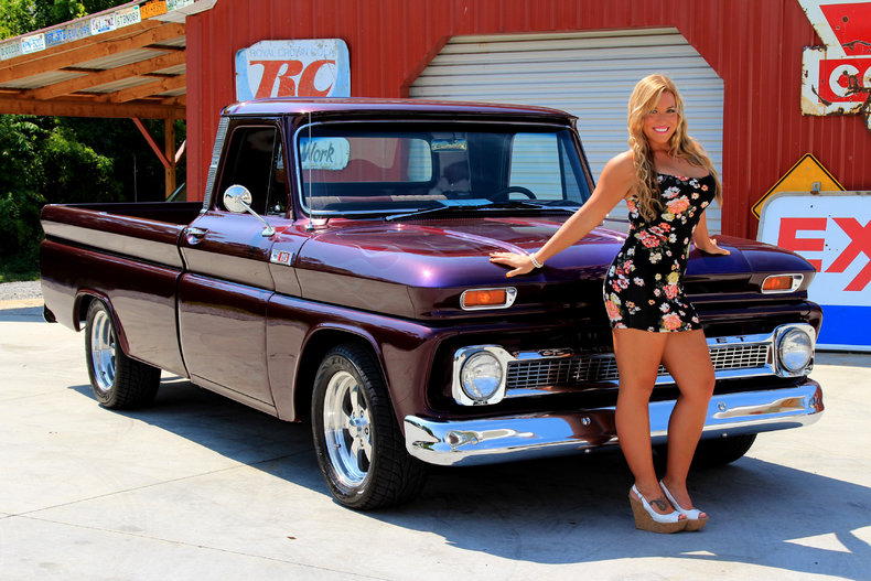 Purple 1965 Chevrolet C10 For Sale Mcg Marketplace