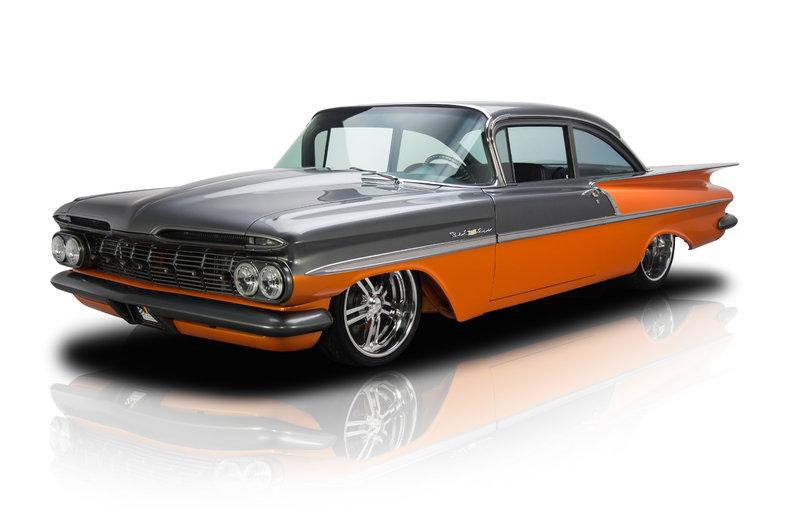 Orange 1959 Chevrolet Bel Air For Sale   MCG Marketplace