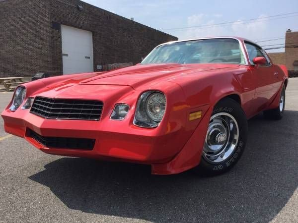 1979 Chevrolet Camaro Berlinetta For Sale Mcg Marketplace